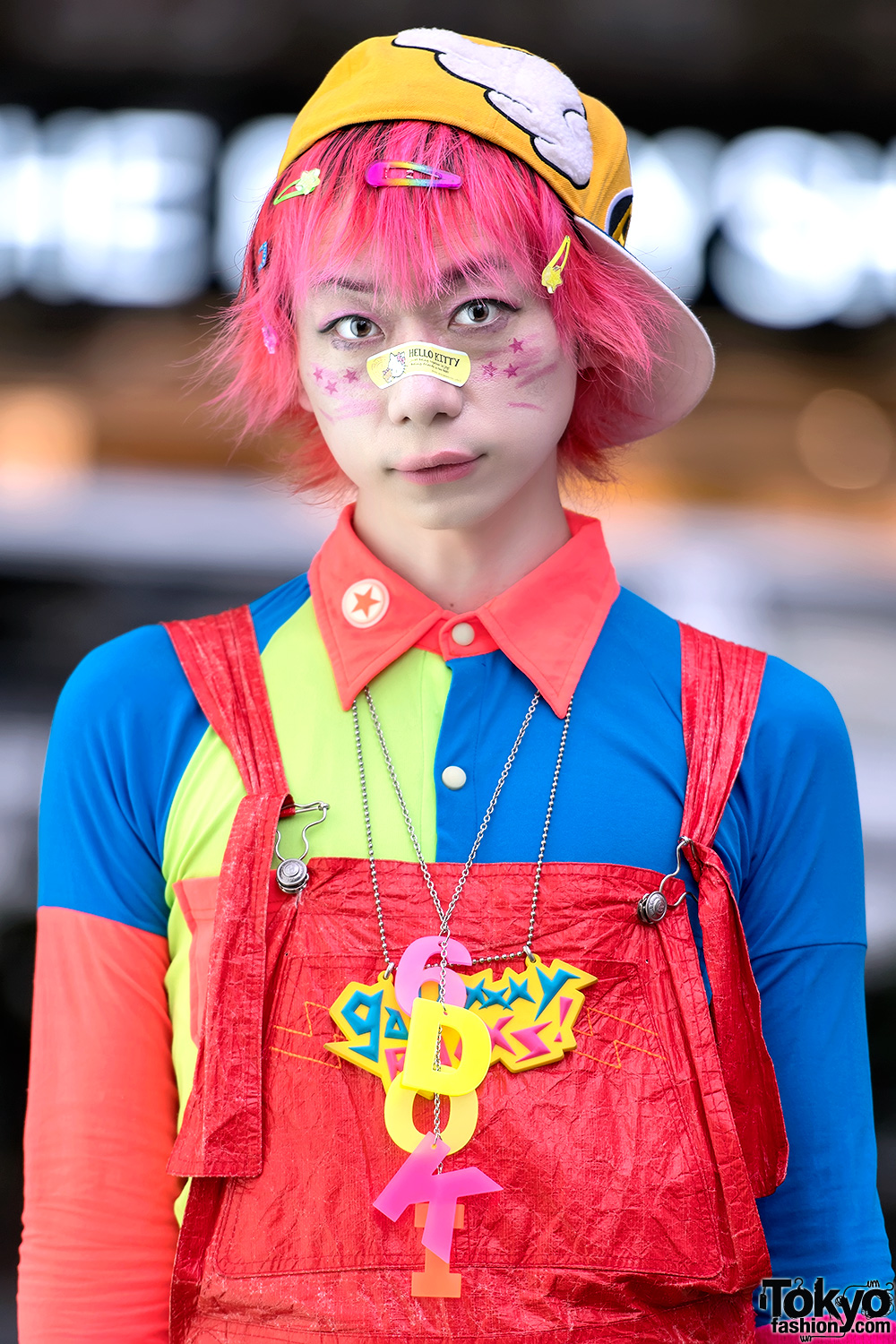 Harajuku Fashion Walk Organizer Junnyan Wearing W