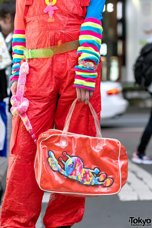 Harajuku Fashion Walk Organizer Junnyan Wearing W
