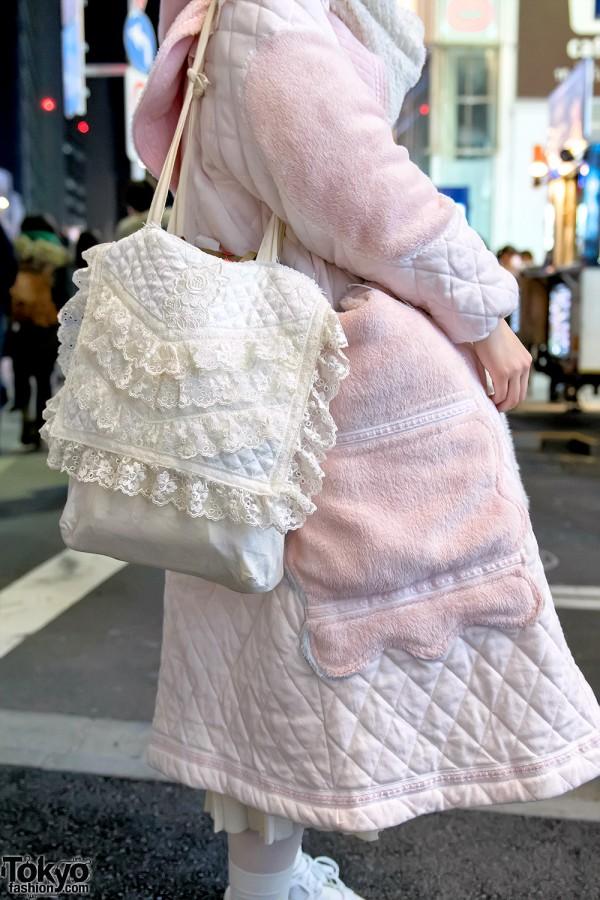 Handmade Lace Purse in Harajuku