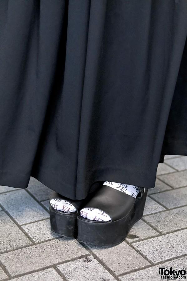UNIF platform Sandals