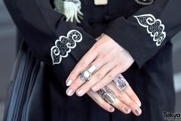 Vivienne Westwood Silver Rings, Tokyo
