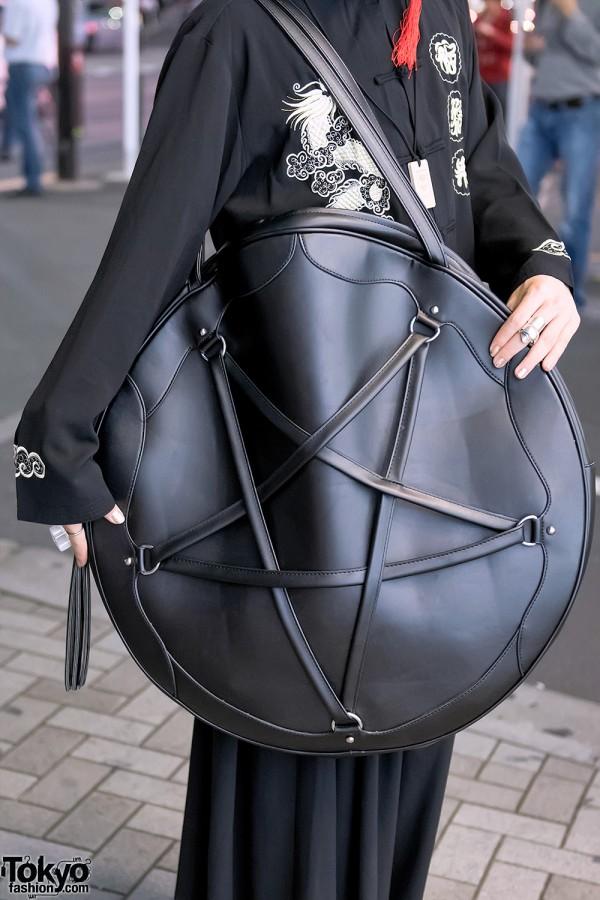 Dolls Kill Oversized Pentagram Tote Bag