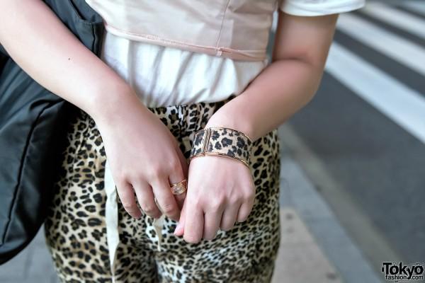 Leopard Print Bracelet