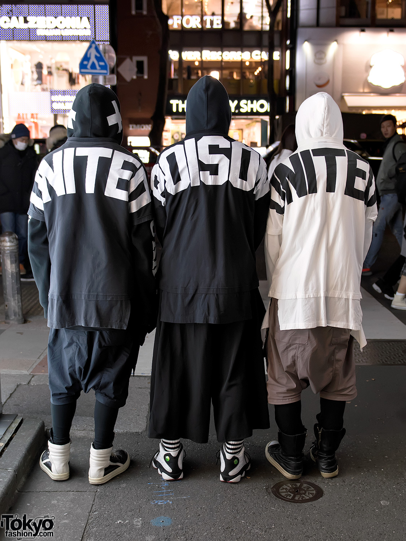 Harajuku Monochrome Streetwear Styles W Ktz Rick Owens