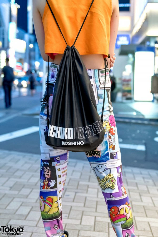 Michiko Koshino Backpack in Harajuku
