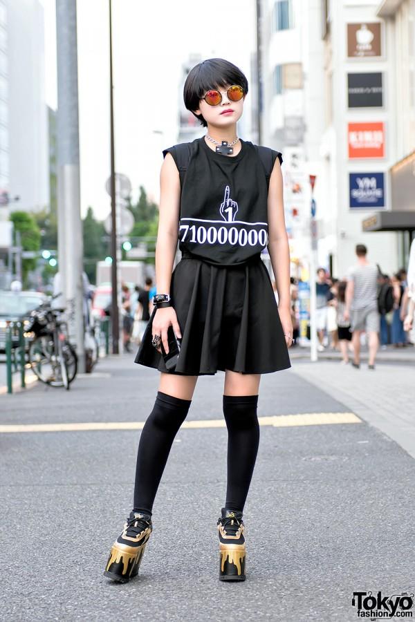 Dark Harajuku Girl Style w/ HellcatPunks & YRU