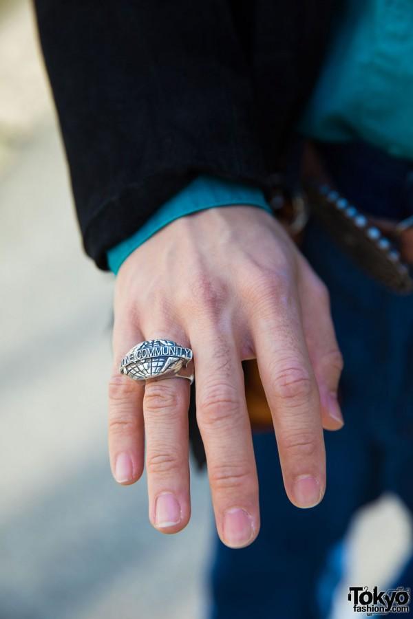 Ozone Community Silver Ring