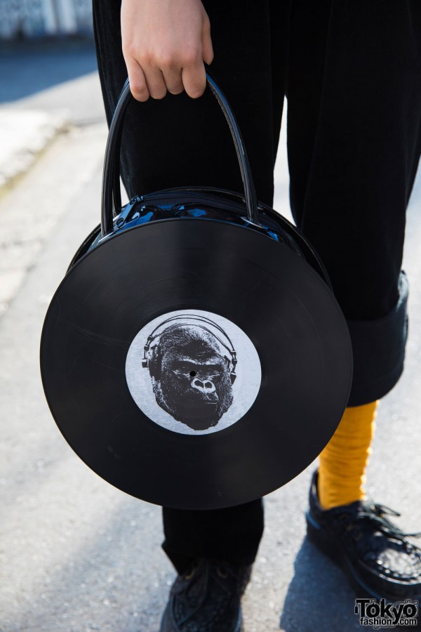 Bunkaya Zakkaten Vinyl Record Bag