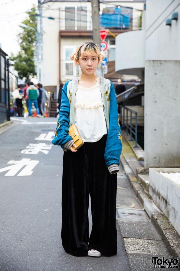 Harajuku Girl in Casual Street Fashion w/ Comme des Garcons, Nadia and Ikumi
