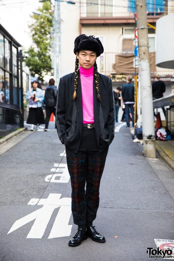 Punk Cake Harajuku Owner in Vintage Street Fashion