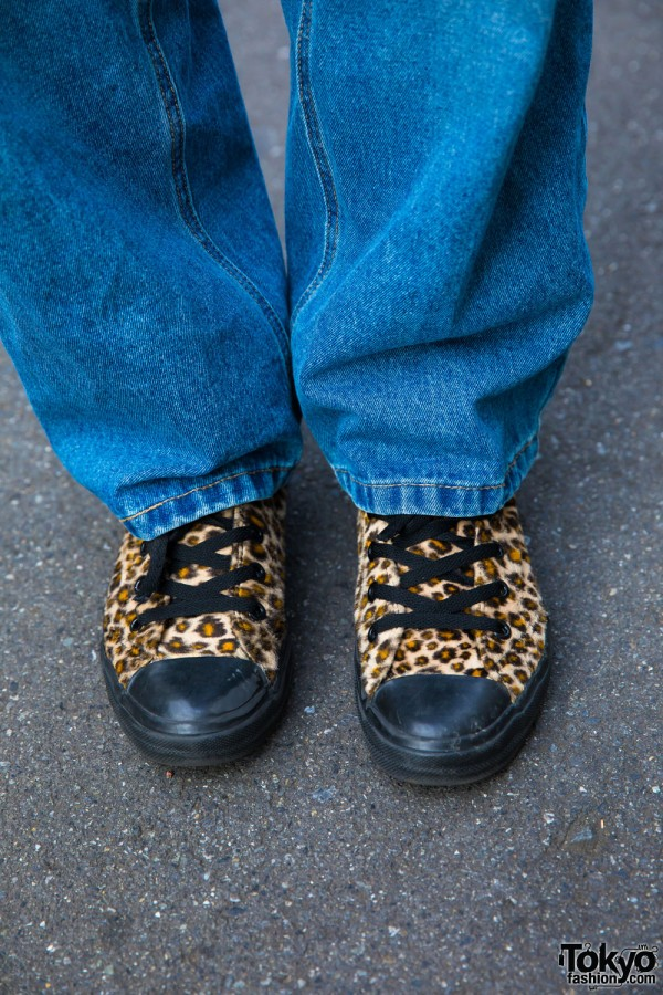 Leopard Print Vans Sneakers