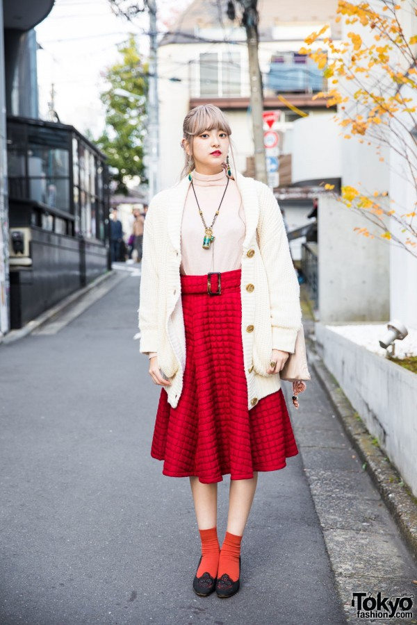 Vintage Tokyo Street Fashion w/ Grimoire & Marte