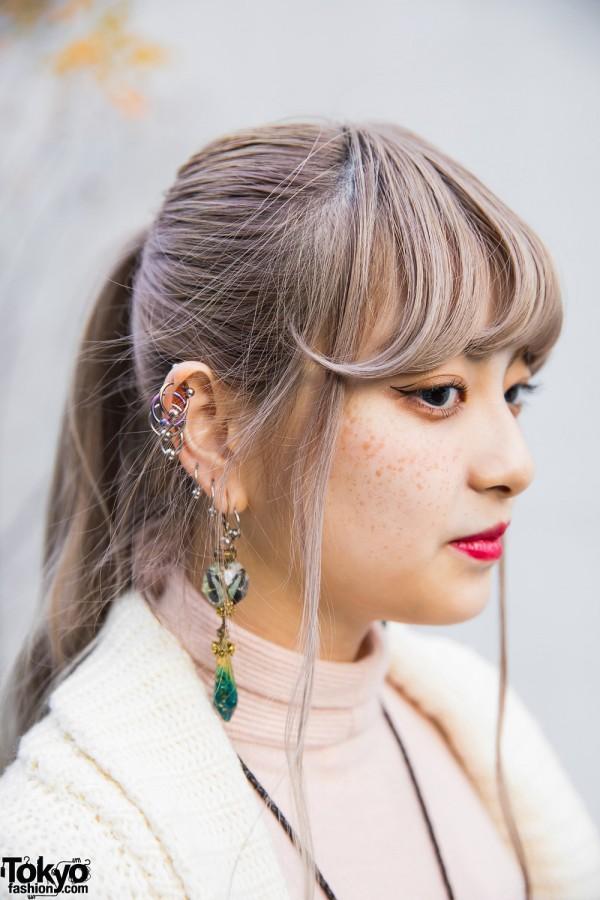 Reinette et Mirabelle Drop Earrings & Hoop Earrings