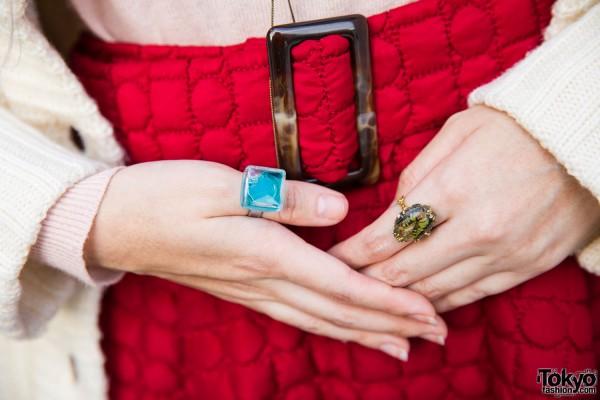 Reinette et Mirabelle Gemstone Rings