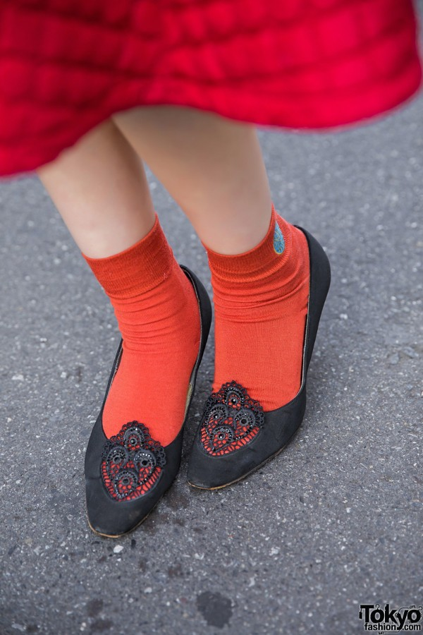 Red Socks & Used/Resale Flats