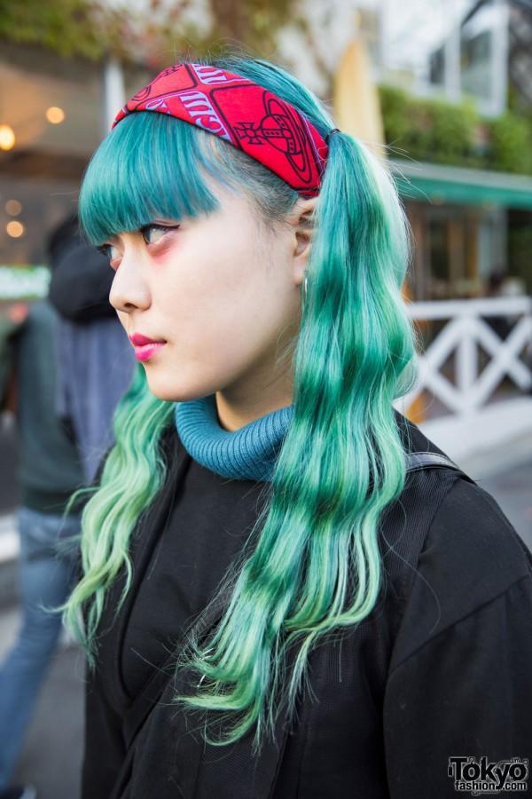 Vivienne Westwood Hairband & Hoop Earring