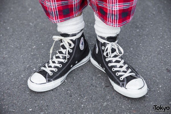 Converse Hi-Top Sneakers x South2 West8