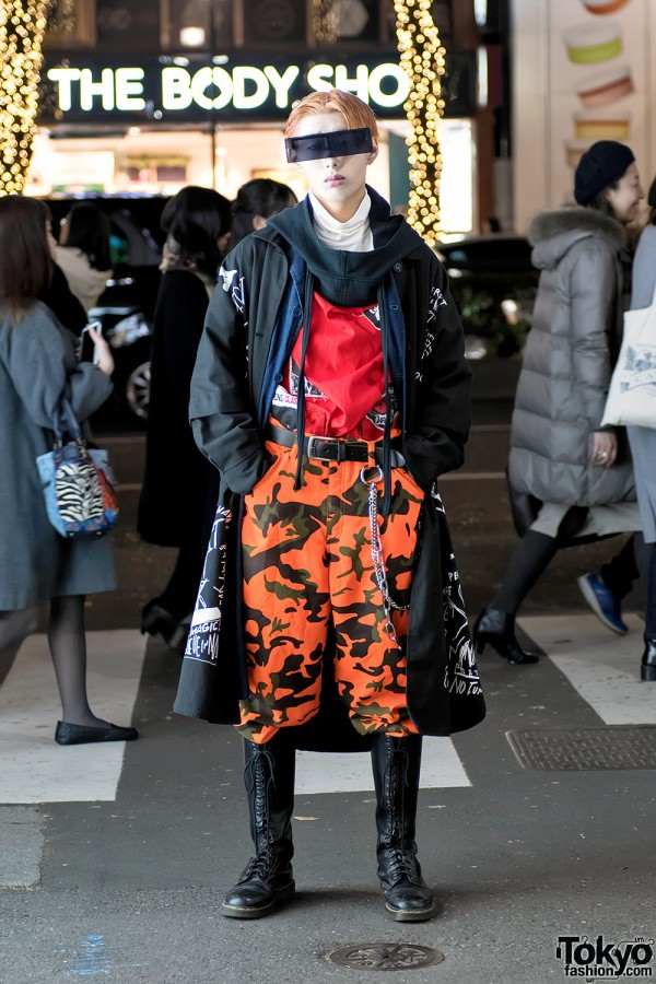 Harajuku Guy Streetwear w/ Ambush Design
