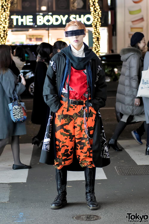Harajuku Street Style W Futuristic Sunglasses Ambush