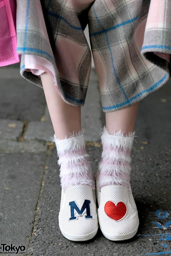 Love Drug Store Heart Slipon Shoes