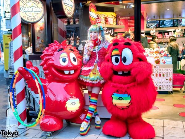 Haruka Kurebayashi at Cookie Time Harajuku (1)