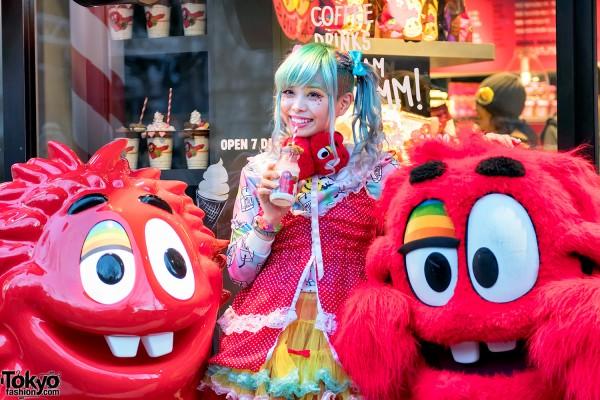 Haruka Kurebayashi at Cookie Time Harajuku (2)