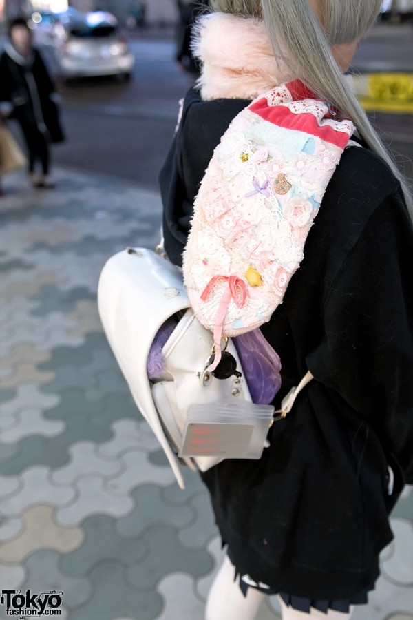 Kawaii Japanese Muffler in Harajuku