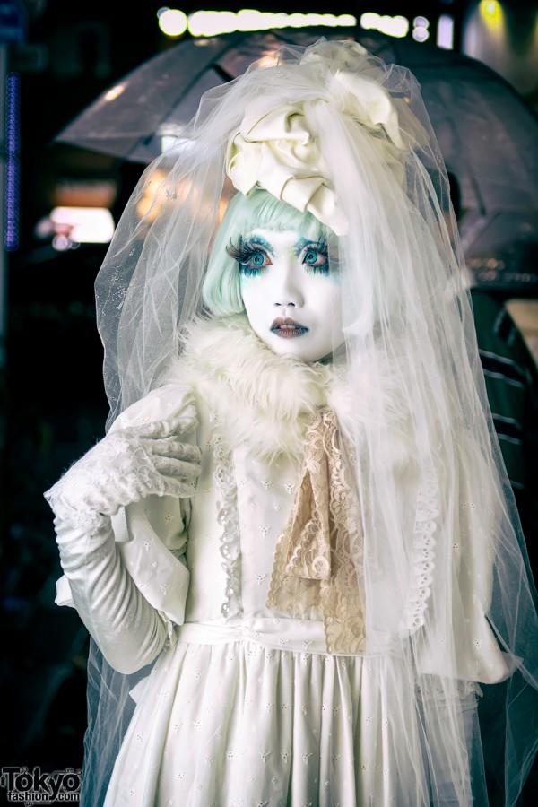 Japanese Shironuri Fashion & Makeup