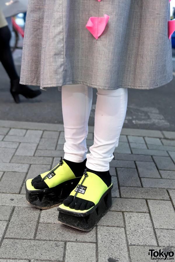 Ying Yang x Dog Harajuku Platform Sandals