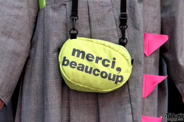 Neon Mercibeaucoup Bag