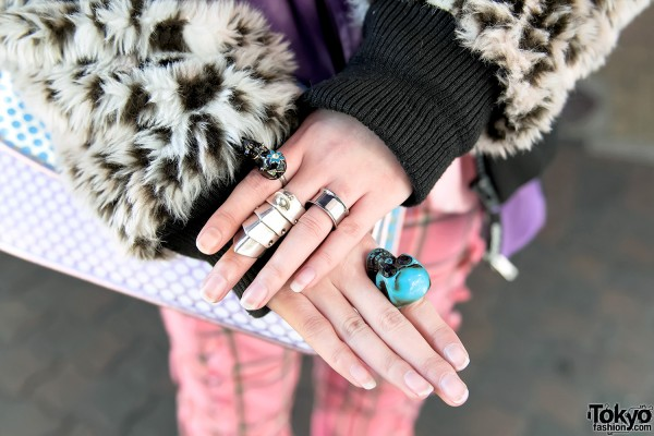 Vivienne Westwood Armor Ring & Cat Ring