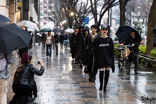 "BERCERK ""Dirty City"" – Japanese Fashion Brand's Dark Harajuku Street Parade"