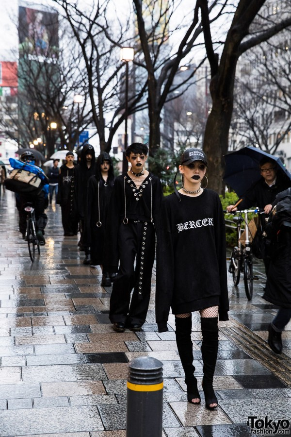 BERCERK Japan Fashion Show Dirty City (2)