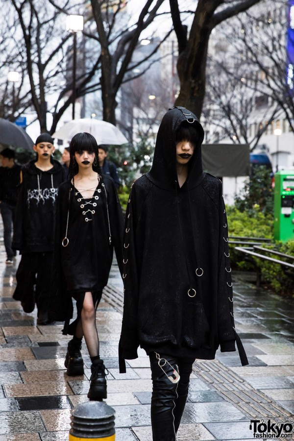 BERCERK Japan Fashion Show Dirty City (5)