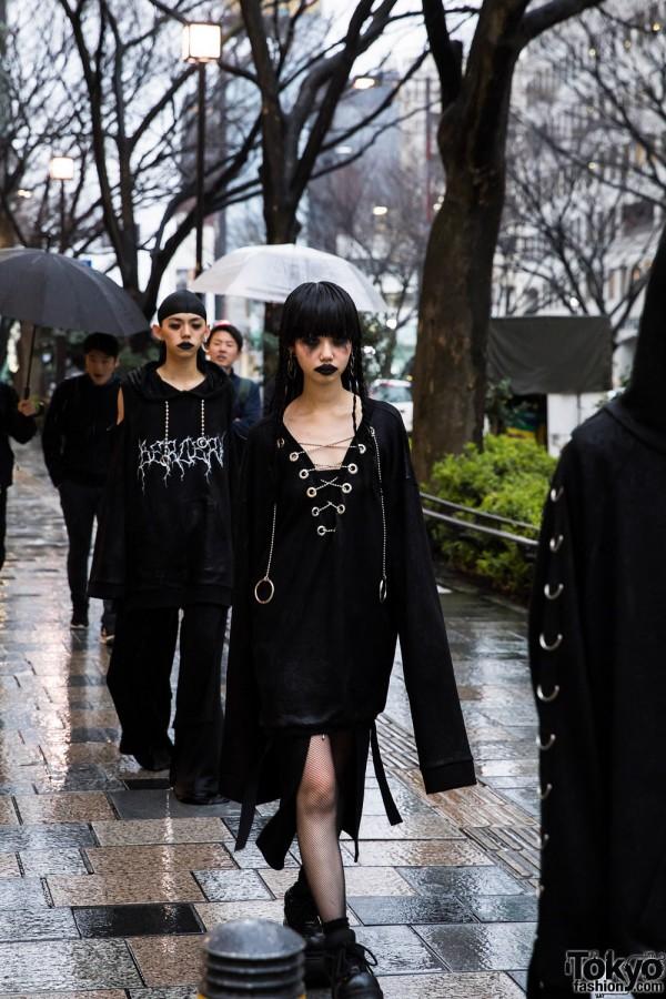 BERCERK Japan Fashion Show Dirty City (6)