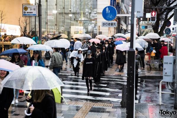 BERCERK Japan Fashion Show Dirty City (7)