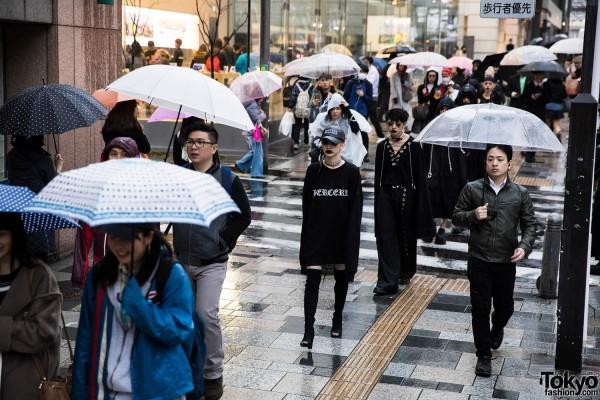 BERCERK Japan Fashion Show Dirty City (8)