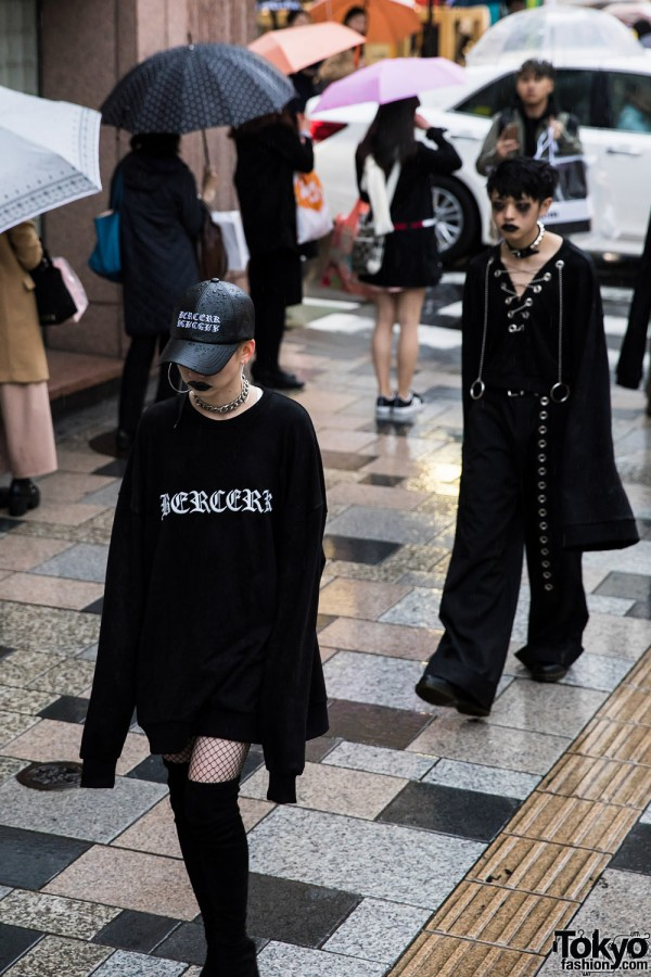 BERCERK Japan Fashion Show Dirty City (9)