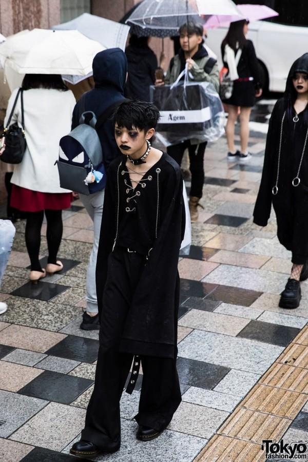 BERCERK Japan Fashion Show Dirty City (10)
