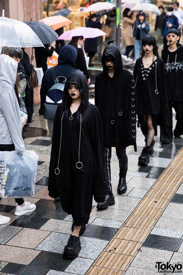 BERCERK Japan Fashion Show Dirty City (11)