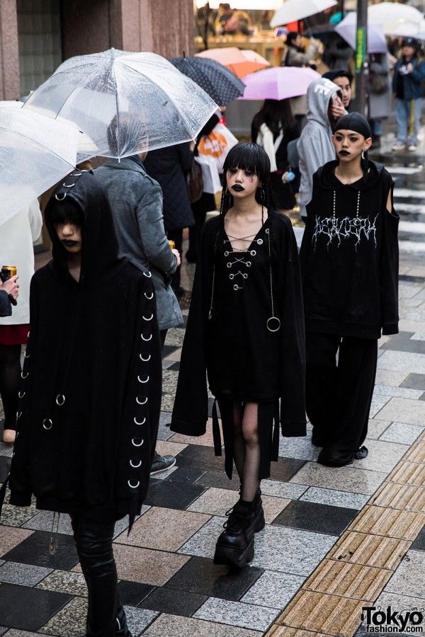 BERCERK Japan Fashion Show Dirty City (12)