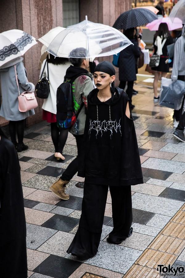 BERCERK Japan Fashion Show Dirty City (13)