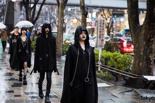 BERCERK Japan Fashion Show Dirty City (16)