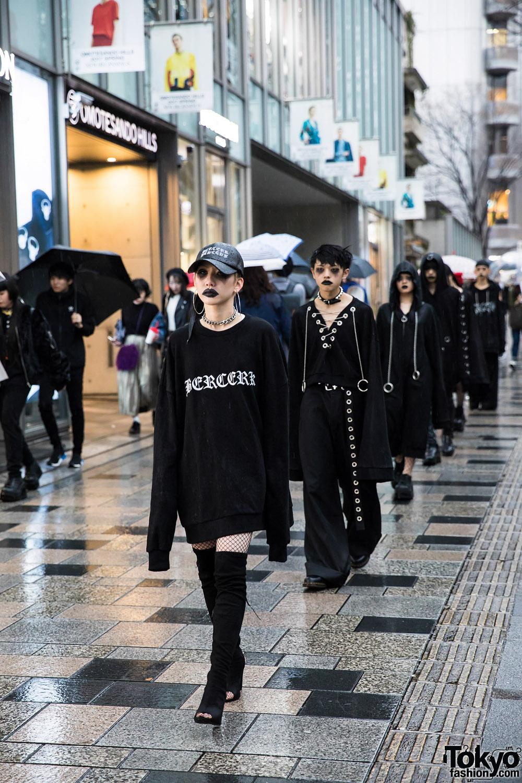 Bercerk Quot Dirty City Quot Japanese Fashion Brand S Dark