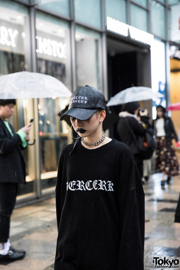 BERCERK Japan Fashion Show Dirty City (21)