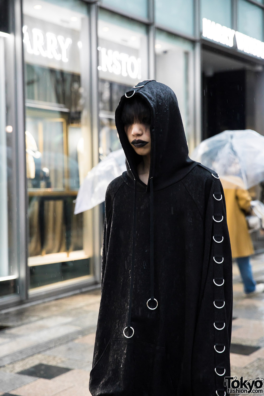 "What Is Uber Black >> BERCERK ""Dirty City"" - Japanese Fashion Brand's Dark Harajuku Street Parade"