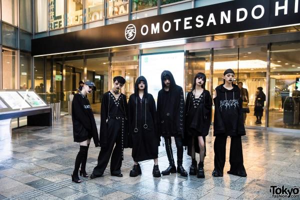 BERCERK Japan Fashion Show Dirty City (25)