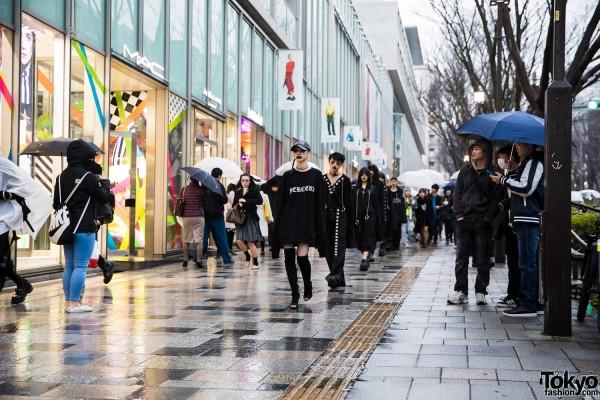 BERCERK Japan Fashion Show Dirty City (26)