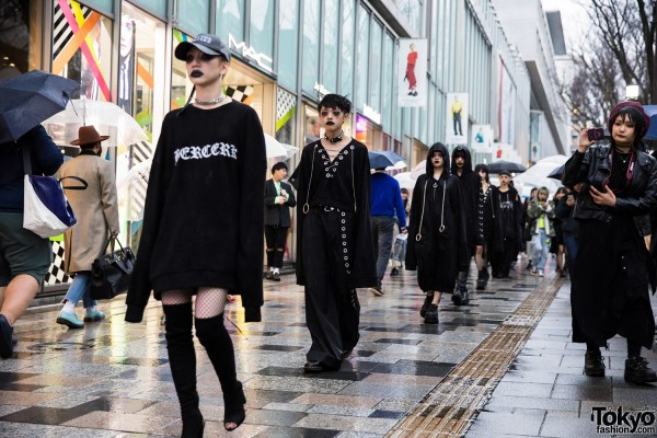 BERCERK Japan Fashion Show Dirty City (27)
