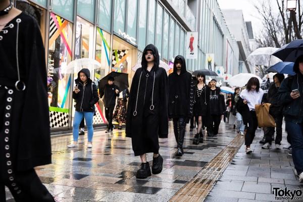 BERCERK Japan Fashion Show Dirty City (28)